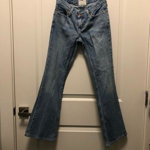 American Eagle Outfitters Jeans - American Eagle Medium Washed Hipster Fit Jeans 0S